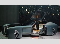 The RollsRoyce Vision 100 concept is completely