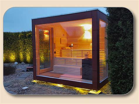 moderne häuser kaufen au 223 ensauna modern mit glasfront vom hersteller holzon de