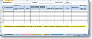 Continuity plan template for banksbusiness continuity for Business impact analysis template for banks