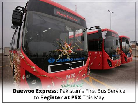 Pakistan's First Bus Service To Register