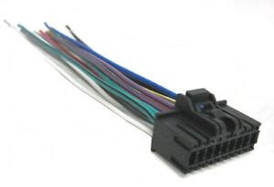 Sony Car Audio Wire Harnes by Sony Wiring Harness Car Stereo 18 Pin Wire Connector Ebay