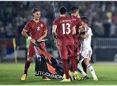 Serbia vs Albania A politicallycharged game photos