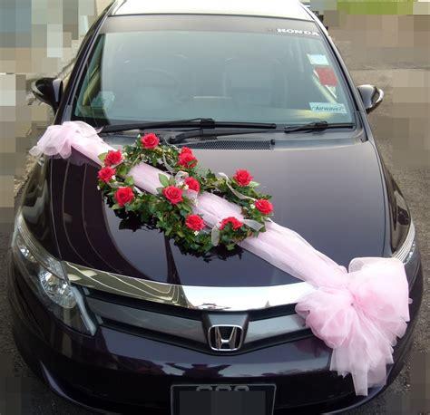 Lynette & U Wedding Car Decorations