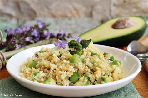 miglio in cucina miglio e lenticchie rosse con asparagi e avocado 2