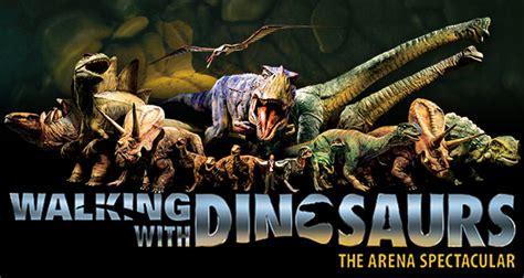 walking  dinosaurs sprint center