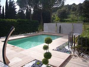 Photo D Amenagement Piscine : am nagement d 39 un tour de piscine dans les c vennes ~ Premium-room.com Idées de Décoration