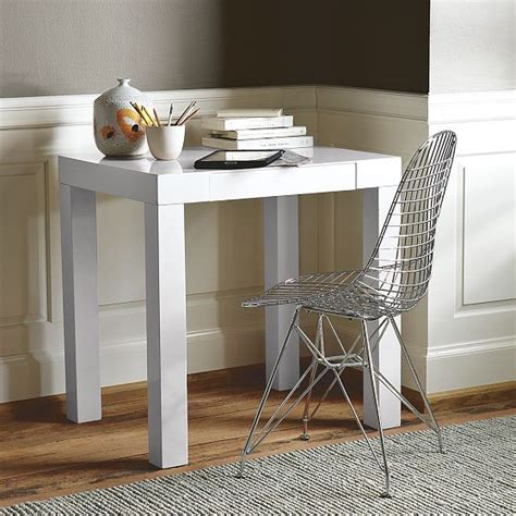 parsons mini desk modern desks and hutches by west elm