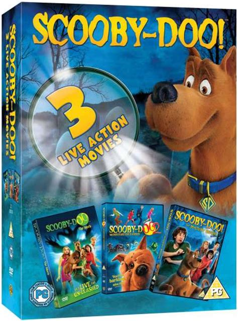scooby doo  action  collection dvd zavvi
