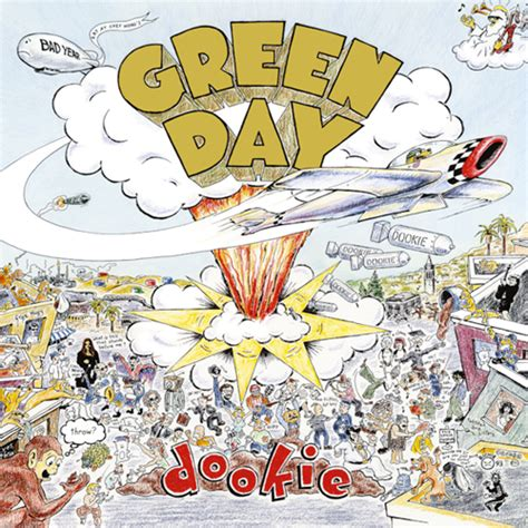 Rock Album Artwork: Green Day - Dookie | Green day albums ...