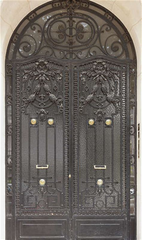 Doorsmetalornate  Background Texture Door