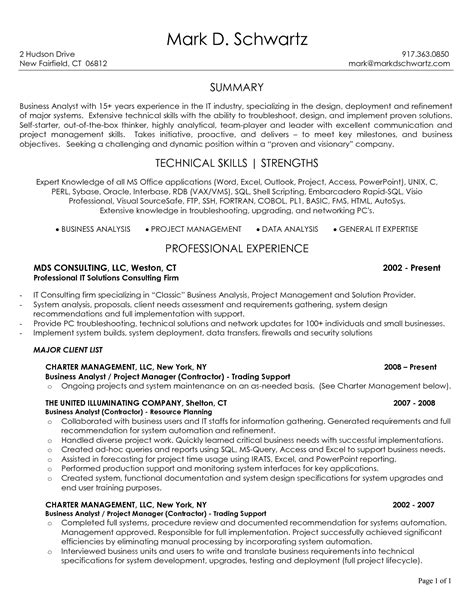 Help Doing Resume Free by Business Analyst Resume Sle Best Template Junior
