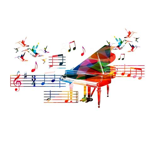 钢琴背景音乐海报 - 素材公社 tooopen.com