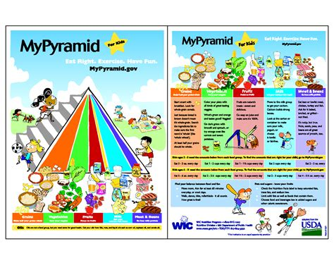printable food pyramid for goji actives diet 854 | Printable Food Pyramid For Kids njiP