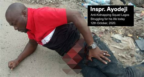 Lagos police confirms killing of its officer in #EndSARS ...
