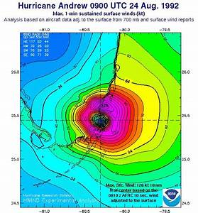 Hurricane Andrew U0026 39 S Wind Analyses