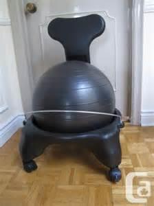 ptfitness excercise ball chair chaise ballon d exercice