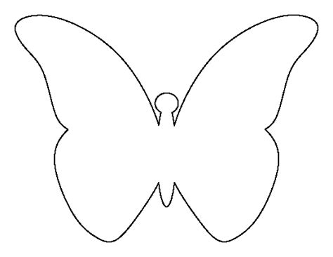 free string templates pdf printable flying butterfly template