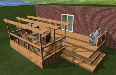 design your own deck plans images