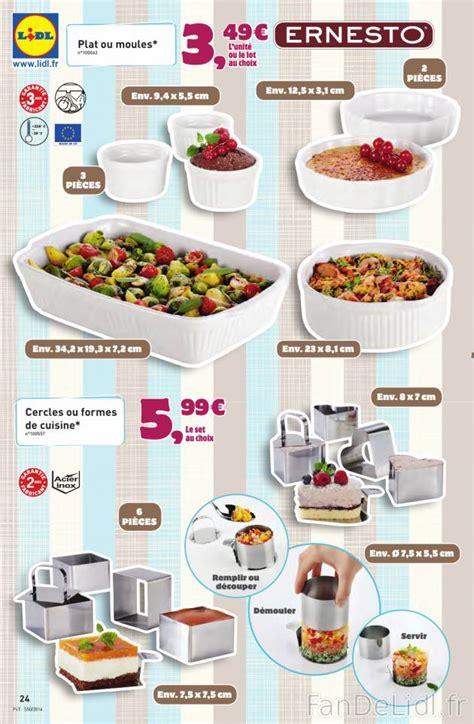 cuisine lidl plats moules vaisselles cuisson et cuisine fan de lidl fr