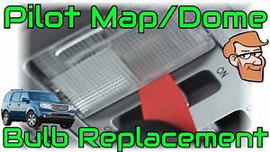 How To Replace Map  U0026 Dome Lights In A Honda Pilot  2009