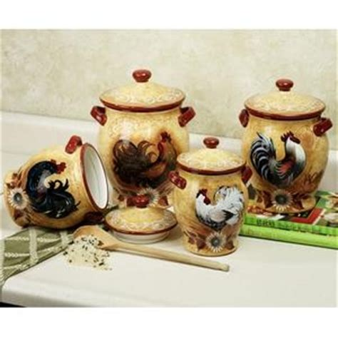 rooster canisters kitchen products 133 best rooster canisters images on rooster