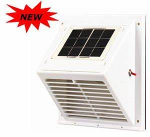 wall mountable solar ventilator sunventor swf 103day With solar powered extractor fan bathroom