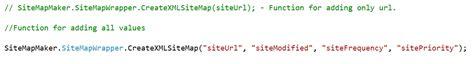 Xml Sitemap Maker With Source Code Dll Purestuff