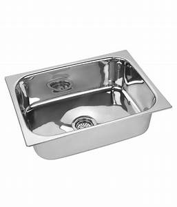 Buy Prayag Silver Stainless Steel Sinks Online at Low ...