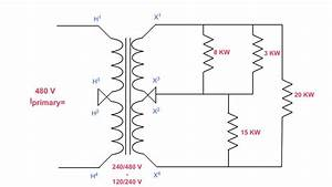 How To Determine Primary Current On A 3 Wire Transformer