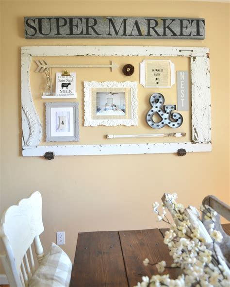 dining room gallery wall  vintage nest