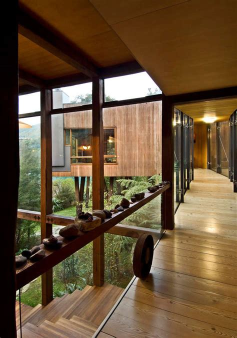 waterfall bay house  zealand residence  architect