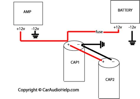 Wiring Amps Capacitor Car Audio Diymobileaudio
