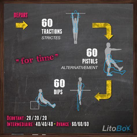 litobox on quot wod litobox 15 min de crossfit pour d 233 velopper la et la puissance