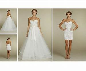 did anyone wear a 2 in 1 or convertible dress dress with With 2 in 1 convertible wedding dresses