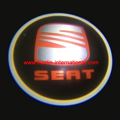 seat car laser logo 3d led door ghost shadow projector lights