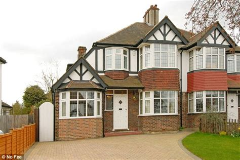 Semidetached Homes With Three Bedrooms Are Britain's Most