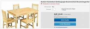 Esstisch Stühle Günstig Kaufen : massivholz esstisch 4 st hle kiefer f r 89 ~ Bigdaddyawards.com Haus und Dekorationen
