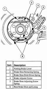 1997 Ford Ranger Parking Brake Adjustment