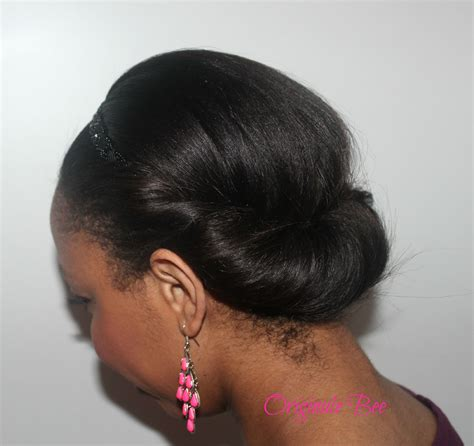 protective styling for relaxed hair coiffure cheveux d 233 fris 233 s avec headband hair 5140