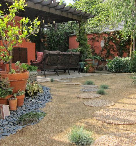 crushed granite landscaping ideas eclectic home decomposed granite path design pictures remodel decor and ideas page 3