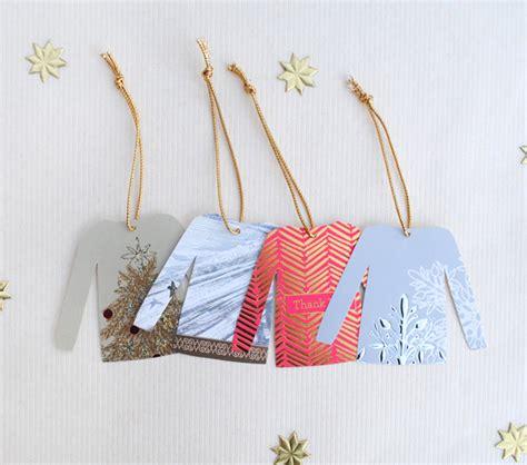 diy christmas sweater gift tags zakka life