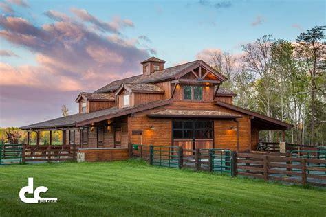 Haus Mit Scheune by Tennessee Barn Builders Dc Builders