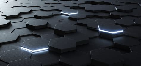 3d Backgrounds by Threedimensional Geometry Of Black Background 3d