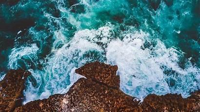 Ocean 4k Drone Cliff Wallpapers