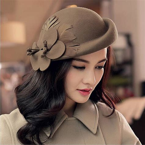 2018 Fashion New Vintage Women Ladies Hat Stewardess Cap
