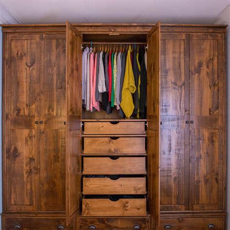 Pine Closet by Custom Pine Closet The Wooden Custom Furniture