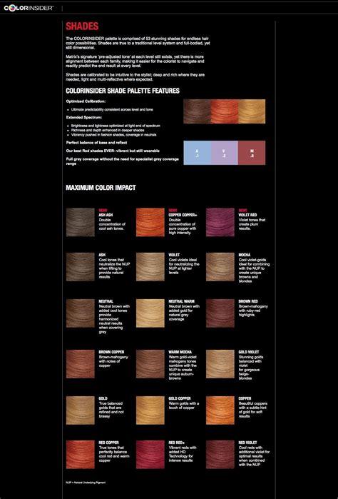 matrix colorinsider  shades   hair  hairstyles hair color formulas matrix