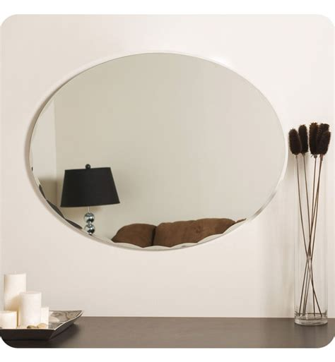 Best wall and floor mirrors on amazon (for all those mirror selfies). Decor Wonderland SSM3002 Egg Shaped Frameless Wall Mirror