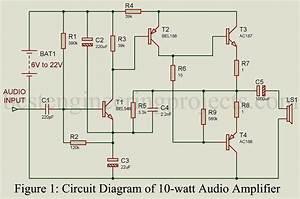 10-watt Audio Amplifier