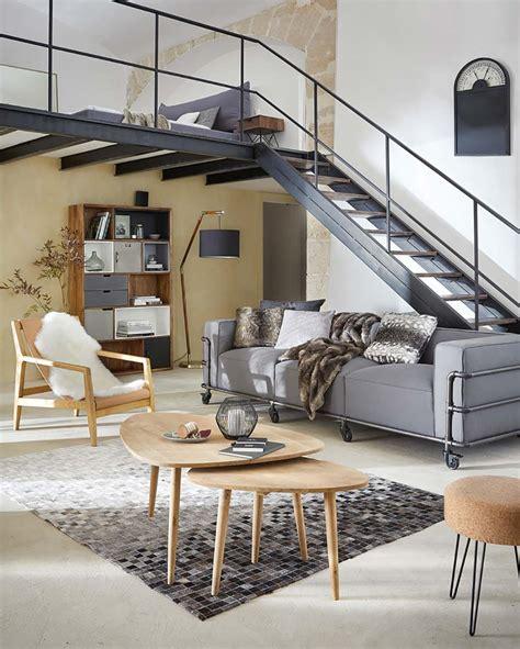 canap loft canap quot moderne quatre places maisons du monde